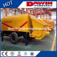 Buy cheap 60m3 80m3/H Large Trailer Concrete Pump with Elctric or Diesel Power Manufacturer product