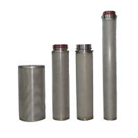 Buy cheap 40 Inch Sintered Mesh Filter For Water Treatment Purification from wholesalers