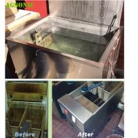 Buy cheap Kitchen Cleaning Heated Soak Tank For Grills Gas Cooking Fat Remove from wholesalers