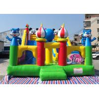 Buy cheap commercial grade backyard gaint inflatable dry slide for kids fun from wholesalers
