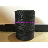Buy cheap Black Polypropylene Cable Filler Yarn High Strength Environmentally Friendly from wholesalers