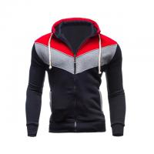 China 2018 New hot sale patchwork hoodies men hip hop mens zipper jacket hoodie sweatshirt slim fit XXL on sale