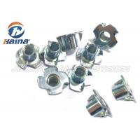 China Plain Finish Zinc Plated Tee Stainless Steel Nuts Four Claws Nut 731816 HS Code on sale