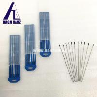 China ECER whole sale WT20 2.4*175mm Tungsten Electrodes tig welding and mig welding on sale