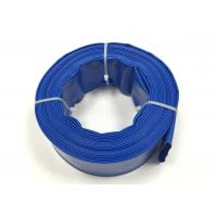 China Flexible PVC Water Discharge Hose , Sprinkler Irrigation Pipe UV Resistant on sale