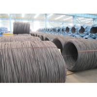 Buy cheap GB 70# Hot Rolling High Carbon Steel Wire Rod 6.5mm , Tool Steel Rod product