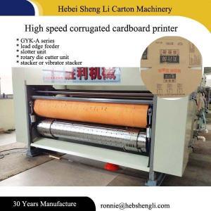 Buy cheap Easy Operating Flexographic Printing Machine , Pizza Box Printing Machine product