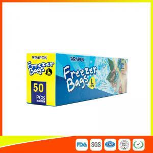 Buy cheap Ресеалабле пластиковый мешок замка застежка-молнии замораживателя кладет легкое открытое в мешки для ежедневной пользы product