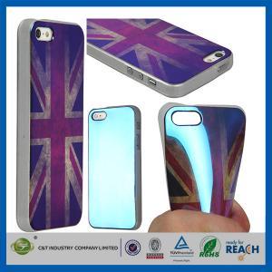 Buy cheap レトロのイギリス様式 TPU のゲルの柔らかい女の子は Apple Iphone 5S のための耐久の携帯電話の箱を作ります product