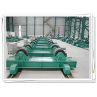 Buy cheap Bolt Adjustable Tank Turning Rolls With Manual Bogie , VFD Control product