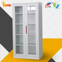 Buy cheap Factory price High quality glass door steel office metal cupboard with shelves product
