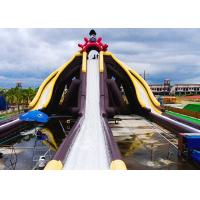 Buy cheap Cartoon Theme Giant Inflatable Slide With Three Lanes Silk - Screen Printing from wholesalers
