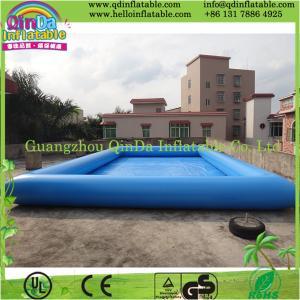 Buy cheap 地面のプールの上の広州QinDaの膨脹可能なプール product