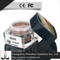 Buy cheap CTPM001C High quality 14 colors lushcolor waterproof permanent makeup eyebrow tatttoo cream product