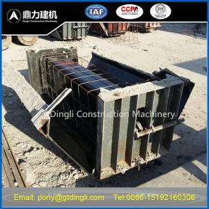 Buy cheap concrete U shape mold product