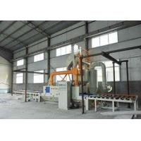 Buy cheap Eco Friendly Roller Conveyor Shot Blasting Machine Anti - Fatigue For Steel Structure product