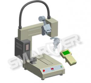 Buy cheap SF001はんだの送り装置が付いている自動高度の動作制御マイクロはんだ付けする機械 product