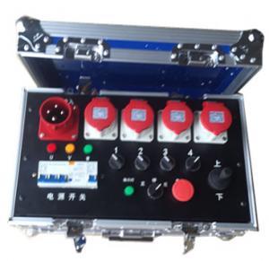 China Noctilucence Rack Flight Case , Four Channel Motor Chain Hoist Power Case wholesale