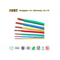 Buy cheap Moisture Proof PTFE Insulated Wire 40KV Rated Voltage With Silver Plated Copper Conductor product