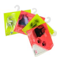 Buy cheap Apparel Plastic Hanger Bags With Multicolor , plastic bags printed product