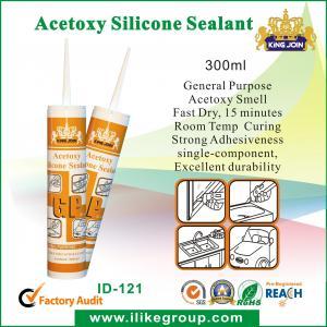 Buy cheap Vedador de uso geral do siliconede Acetoxy para industrial com cura ácida product