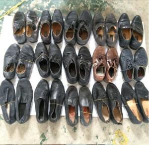 chaussures utilisées bon marché/chaussures occasion pour l'exportation