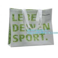 Buy cheap Low price recyclable plastic pp woven shopping bag manufacturers,Factory low price promotional PP laminated woven shoppi product