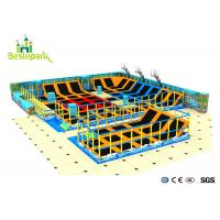 Buy cheap Foam Pit Adult Trampoline Park , Childrens Indoor Trampoline Custom Made Design from wholesalers