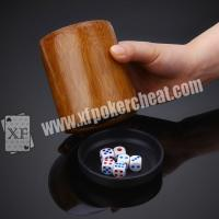 Buy cheap Perspective Dice Cup / Gambling Accessories Casino Magic Dice  With 4h Battery product