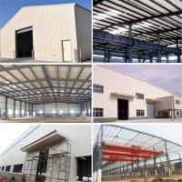 China Light Gauge Prefabricated Construction Steel Warehouse Building with Nice Design on sale