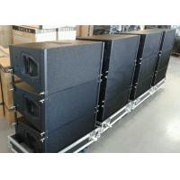 "Buy cheap 2 Way Double 10"" Neodymium Church Sound Systems 800 Watts RMS Line Array Speaker product"