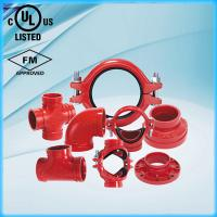China Ductile Iron Grooved Pipe Fittings with UL FM on sale