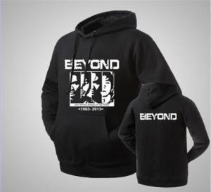 Buy cheap 80%Cotton Custom print  Hoodie / Custom Sweatshirts / Get Your Own Designed Hoodies & Sweatshirts From Pakistan black product