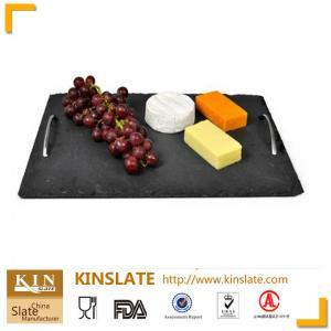 Buy cheap Produit naturel de série de plateau d'ardoise de fromage d'ardoise de plat d'ardoise de rectangle product