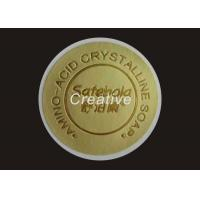 China Custom Embossed Labels Stickers 3D Screen Printing Embossed Decals on sale