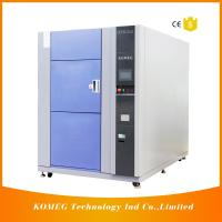 Buy cheap PCB and LED Resistance Cold Heat Shock Test Chamber Specifications Touch Screen from wholesalers