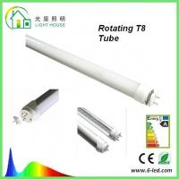 China Rotating 18 Watt  T8 LED Tube 1200mm Frosted and Clear Lighting Fixture wholesale