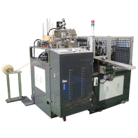 Buy cheap 50pcs/Min 135gsm Paper Lid Forming Machine Without Glue product