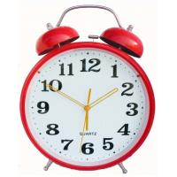 Buy cheap Colourful Heart design plastic twin-bell alarm clock product