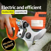 Buy cheap 45mm Professional Portable Electric Pruning Shear Battery Powered Pruner For Vinyard Orchards High Speed product