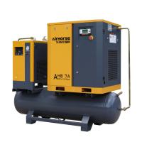 Buy cheap 102-145PSI compressor Industrial Rotary screw air compressor with dryer and receiver 300L product