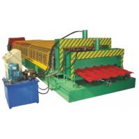 Double Layer Corrugated Sheet Roll Forming Machine For Two Different Profiles