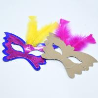 Buy cheap Women Festival Party Decorations Paper Handicraft Masks 350gsm CCNB Material product