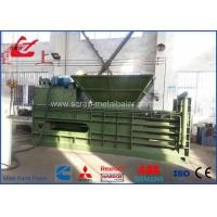 Buy cheap Horizontal Automatic Tie Waste Paper Baler With Conveyor Feeding , Bale Size 1100x1100mm product