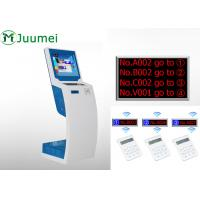 Buy cheap Smart Queue Management Ticket Dispenser Easy Operation With Voice product