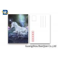 Buy cheap Souvenir Gift 3D Lenticular Card With Customized Logo / Lenticular Photo from wholesalers