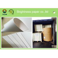 High Stiffness Greeting Card Sheets , Glossy Cardboard Sheets Folded