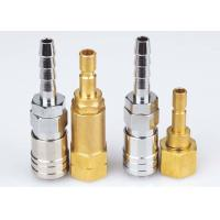 Buy cheap Korean Type Pneumatic Quick Release Coupling , LSQ-DD Nickle Plated Pneumatic from wholesalers