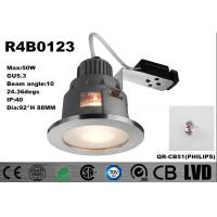 China Round Anti-UV Dia 92*H 88MM Aluminum Housing&Stainless Steel with Frosted Glass GU5.3 Downlight wholesale
