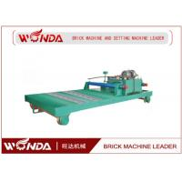 Buy cheap Ferry Hydraulic Stepper Pusher Steel Adobe Caly Fried Brick Making Machine Applied from wholesalers
